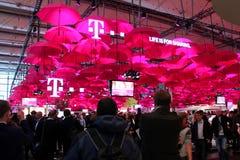 Il supporto di Deutsche Telekom Fotografia Stock Libera da Diritti