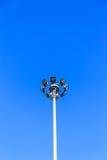 Il supporto elettrico ospite nel giorno del sole Fotografia Stock