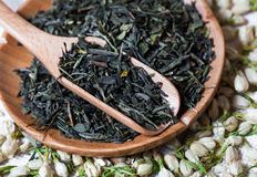 Il tè asciutto fiorisce la composizione Fotografie Stock
