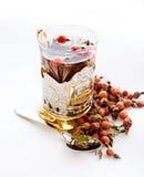 Il tè con un selvaggio è aumentato Fotografie Stock Libere da Diritti