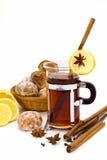 Il tè e spezia-agglutina fotografie stock libere da diritti