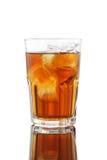 Il tè ed il limone di ghiaccio mescolano fresco del miele molto isolati Fotografia Stock Libera da Diritti