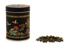 Il tè verde cinese Immagine Stock Libera da Diritti