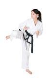 Il Taekwondo Fotografia Stock