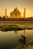 Il Taj Mahal Immagine Stock Libera da Diritti
