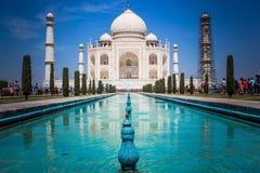 Il Taj Mahal Agra fotografie stock libere da diritti
