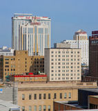 Atlantic City prima dell'uragano Fotografie Stock