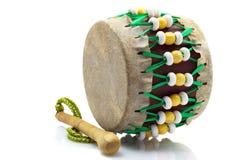 Il tamburo turco ha isolato Fotografia Stock