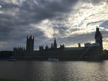 Il Tamigi, Londra, Regno Unito immagine stock