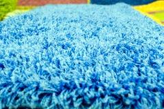 Il tappeto di qualità nella macro vista superiore con una fibra è distinguibile fotografia stock