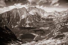 Il Tarn in alto Tatras, Slovacchia Immagine Stock Libera da Diritti
