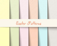 Il tartan di Pasqua modella l'illustrazione di vettore Fotografie Stock