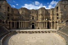 Il teatro in Bosra Fotografia Stock