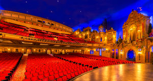 Il teatro del palazzo di Louisville immagine stock libera da diritti