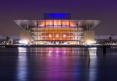 Il teatro dell'opera di Copenhaghen fotografie stock