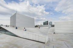 Il teatro dell'opera di Oslo, Norvegia Fotografia Stock