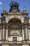 Il Teatro dell'Opera di Semper a Dresda fotografia stock libera da diritti