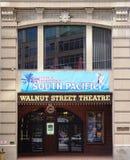 Il teatro della via della noce in Filadelfia Immagine Stock