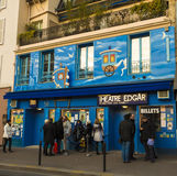 Il teatro di Edgar a Parigi, Francia Fotografia Stock