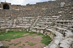 Il teatro di Odeon di Bouleuterion Fotografia Stock Libera da Diritti