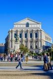 Il teatro di opera a Madrid Fotografia Stock Libera da Diritti