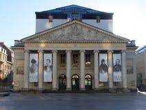 Il teatro reale della menta bruxelles belgium Immagini Stock