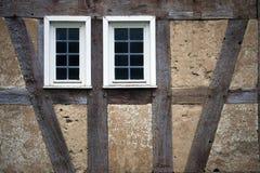 Il tedesco d'annata anziano alloggia l'architettura Immagine Stock Libera da Diritti