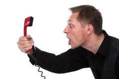 Il telefono caldo fotografia stock libera da diritti