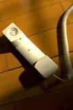 Il telefono fuori dall'amo Fotografie Stock Libere da Diritti