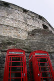Il telefono inscatola Edinburgh Immagine Stock Libera da Diritti