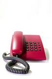 Il telefono rosso Fotografie Stock Libere da Diritti