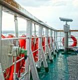 Il telescopio Marmara del traghetto innaffia Costantinopoli Turchia Fotografie Stock