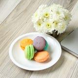 Il tema pastello, buongiorno o ha un concetto del messaggio del giorno piacevole fotografie stock