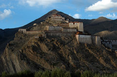 Il tempiale della lama sulla montagna Fotografie Stock