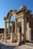 Il tempiale di Hadrian Immagini Stock Libere da Diritti