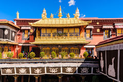 Il tempiale di Jokhang Fotografie Stock Libere da Diritti