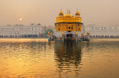 Il tempiale dorato, Amritsar, India Fotografia Stock