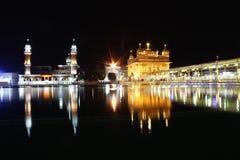 Il tempiale dorato, Amritsar, Punjab, India Fotografia Stock