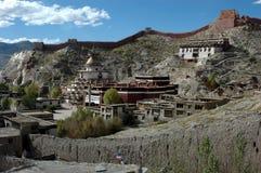 Il tempiale tibetano della lama Fotografie Stock