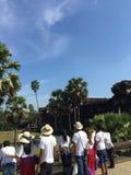 Il tempio alla cucitura raccoglie la provincia, Cambogia fotografia stock