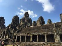Il tempio alla cucitura raccoglie la provincia, Cambogia immagini stock libere da diritti