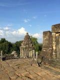 Il tempio alla cucitura raccoglie la provincia, Cambogia immagini stock