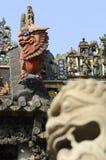 Tempio ancestrale della famiglia di Chen Fotografia Stock