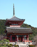 Il tempio buddista Kiyomizu-dera Immagini Stock
