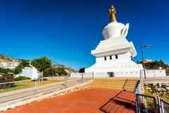 Il tempio buddista nella città di Benalmadena L'Andalusia, stazione termale del sud Immagine Stock Libera da Diritti
