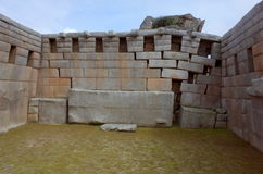 Il tempio dei tre Windows Immagine Stock Libera da Diritti