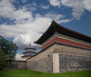 Il tempio del cielo (altare di cielo), Pechino, Cina Immagini Stock