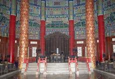 Il tempio del cielo (altare di cielo), Pechino, Cina Fotografie Stock Libere da Diritti