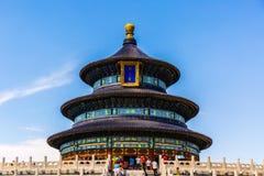 Il tempio del cielo, Cina immagini stock libere da diritti