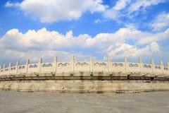 Il tempio del cielo nella cupola di Pechino Fotografie Stock